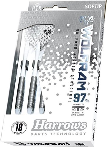 18g Soft Tip Harrows Ram Wolfram Tungsten Darts Set by PerfectDarts