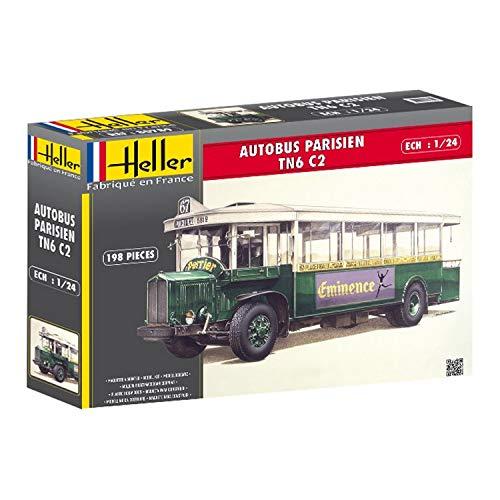 Heller 80789 - Modellismo, Autobus di Parigi Tn6 C2 [Importato da Francia]