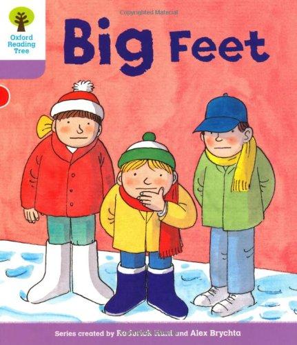 Oxford Reading Tree: Level 1+: First Sentences: Big Feetの詳細を見る