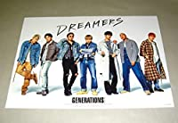 GENERATIONS from EXILE TRIBE DREAMERS A3サイズ ポスター