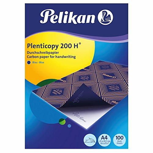 Pelikan 404426 Durchschreibpapier plenticopy 200H, blau, A4, 100 Blatt