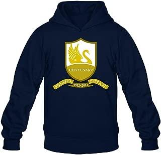 SWWM Men's Swansea City Afc Long Sleeve Sweatshirts Hoodie