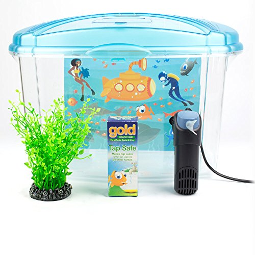 Interpet Kunststof Vis Tank Aquarium voor Goudvis, 18 Liter