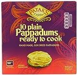 Patak's Pappadums Original Ready to Cook - Paquete de 12 x 100 gr - Total: 1200 gr