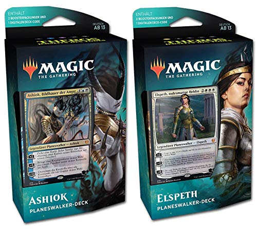 Wizards Of The Coast Magic Theros Jenseits des Todes Planeswalker-Decks 2er Set (DE)