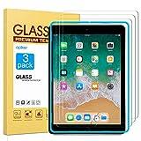 apiker Lot de 3 Verre Trempé Compatible pour iPad 9,7 Pouces (modèle 2018 et 2017 6ème/5ème...
