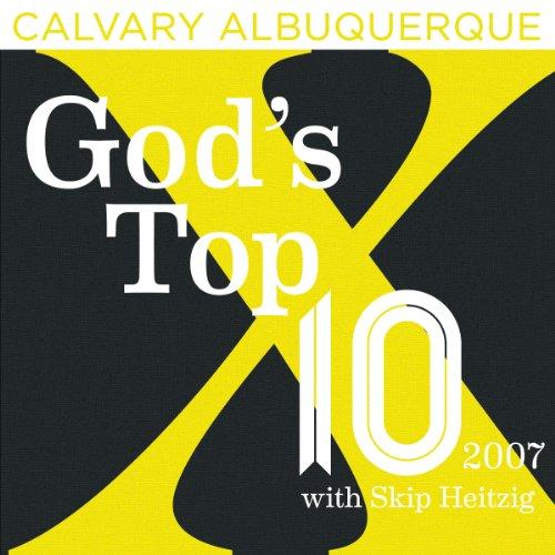 God's Top Ten - 2007 cover art