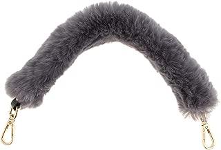 Prettyia Novelty Faux Fur Bag Strap Handle Shoulder Bag Belt Replacement Handbag Accessories 40 cm