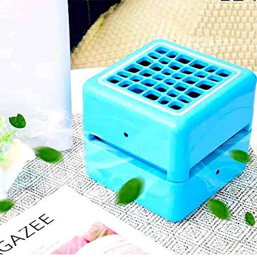 Y-LengF Tragbare Klimaanlage Luftverdampfer Lufterfrischer | Lüfter Klimaanlage 3 Leistungsstufe 7 Stimmungslicht Büro | Camping | Lufterfrischer Zu Hause,Blue