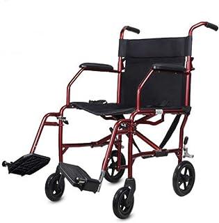 Sillas de Ruedas autopropulsadas, Dispositivo de Movilidad Plegable para el Transporte Interior Estrecho y fácil