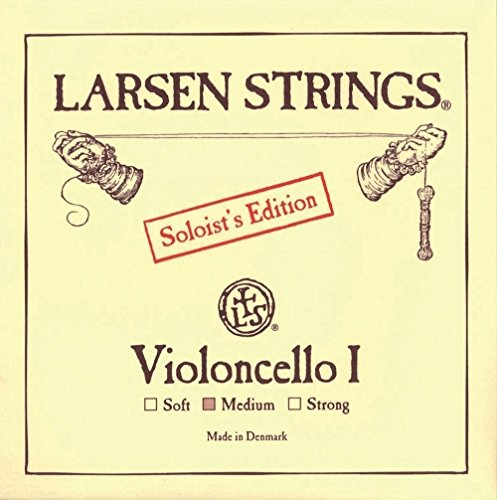 Larsen Saiten für Cello A Chromstahl Soloist's Edition I 4/4; Strong