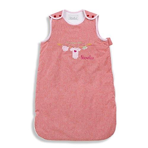 NioviLu Bébé Gigoteuse - Ma garde robe (6-18 mois / 90 cm - 3.5 Tog)
