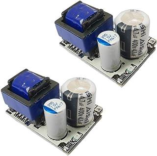 2Pcs AC DC Converter Module Universal 110V 120V 220V 230V to DC 5V 12V Isolated Switching Power Supply Board (DC 5V 700mA ...