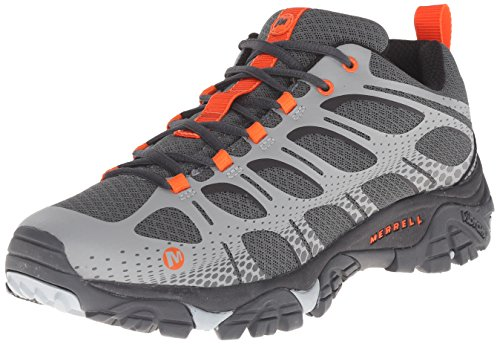 Merrell Men's Moab Edge Shoes, Grey, 13 M US