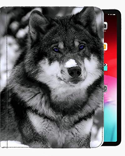 For iPad Pro 9.7 inch Case Cover,Baby Animal Puppy Wolf Case Slim Shell Cover For iPad Pro 9.7