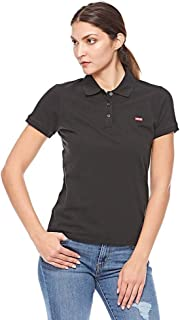 Levi'S Polo For Women - Black, XS