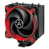 ARCTIC Freezer 34 eSports - Ventola de CPU, Enfriador de CPU Push-Pull, Intel: 2066, 2011(-3), 1155, 1151, 1150, 1200; AMD: AM4, 200-2100 RPM, Ventilador PWM 120 mm, CPU Cooler - Rojo