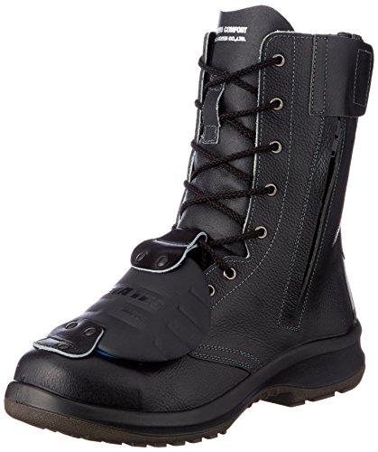 [ミドリ安全] 安全靴 JIS規格 甲プロテクタ付き 長編上靴 プレミアムコンフォート PRM230F オールハトメ 甲プロMII メンズ ブラック 26.5 cm 3E