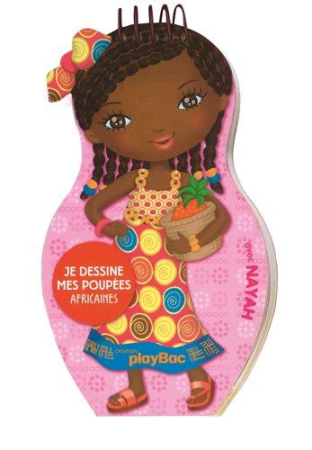 Minimiki tegnebøker: Jeg tegner mine afrikanske dukker