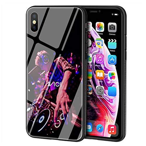 Custodia per Telefono for iPhone 6/6s Cover,Vetro temperato Morbido Bumper in Silicone AntiGraffio Paraurti Custodia LB-115 Avicii DJ Tim Bergling Excellent Phone Case