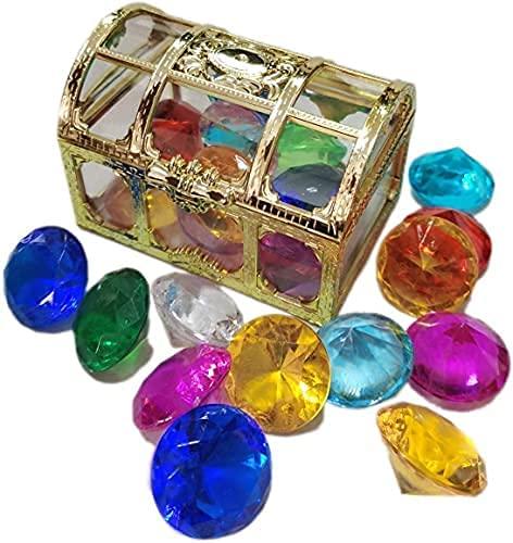 Pool-Spielzeug, Tauch-Edelstein, 14 farbige Diamant-Sets, Sommer-Schwimm-Edelstein, Piraten-Tauch-Spielzeug-Set, Tauch-Spielzeug, Unterwasser-Spiele