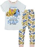 Womens Winnie the Pooh Pyjamas Ladies Nightwear Eeyore Tigger Short Sleeve PJs (8-10)