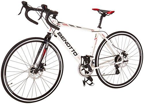 Benotto RRU850701448BL Bicicleta de Aluminio Rodada R700C, Unisex, 14 Velocidades