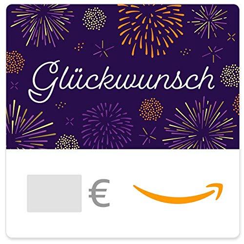 Digitaler Amazon.de Gutschein (Glückwunsch Feuerwerk)