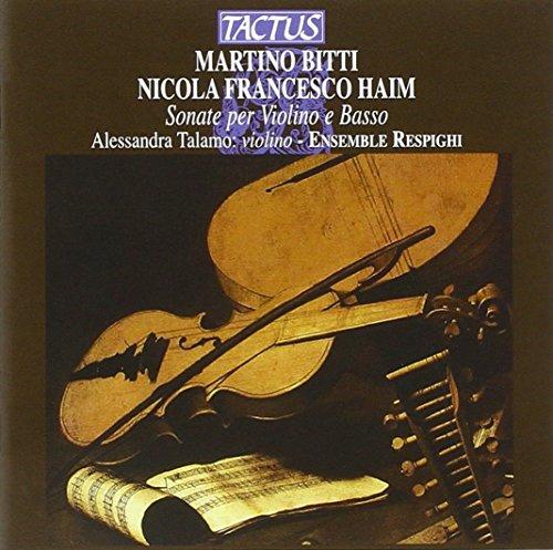 Bitti-Haim : Sonate per Violino E Basso