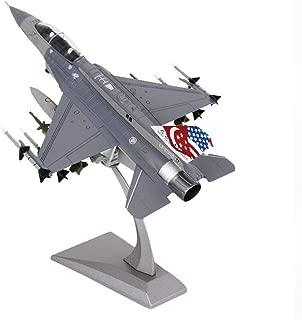 Gn shop Maqueta Avión, Caza F-16 De Aleación De 1:72 Modelo De Aviones Militares Regalo De La Decoración