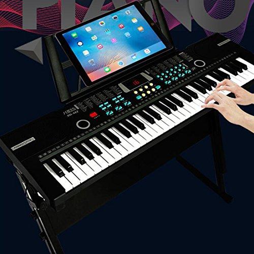 FutureShapers Kids 61 Keys Digital Piano Music Keyboard with Microphone...