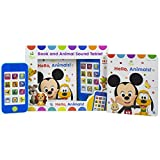Disney Baby Mickey Mouse, Lion King, and More! - Hello Animals! Book and Animal Sound Tablet - Little My Own Phone - PI Kids
