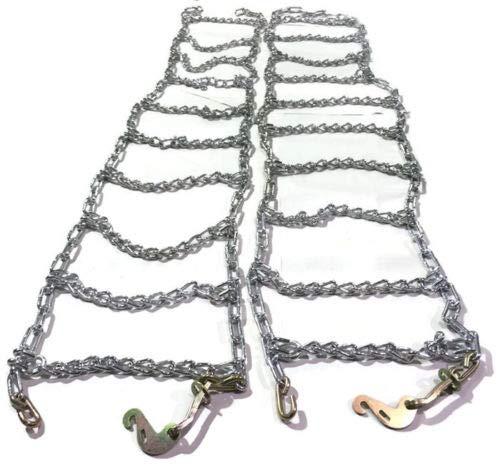 Skid Steer Uni-Loader Snow Tire Chains Twist Link Hardened 10-16.5 Peerless