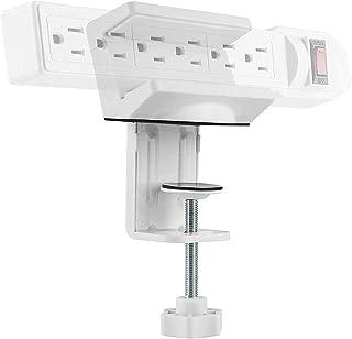 AVLT Power Strip Desk Mount - Desk Clamp Power Strip Holder - Power Strip Clamp Mount - Fits Power Strip with Width Betwee...