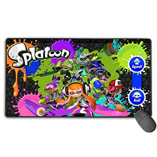 Spl_at_Oo_N - Alfombrilla de ratón para videojuegos (2 unidades, 3 mm, 40 x 75 cm)