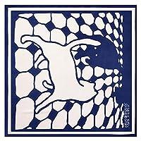レディーススモールスクエアスカーフファッションレトロプリントスカーフ装飾的なスカーフ (Color : 1)