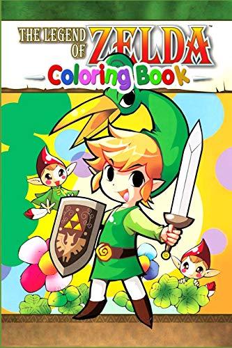 The Legend of Zelda Coloring Book: the leaderboard, nintendo zelda, nintendo, legend of zelda: link's awakening, link's awakening, majora's mask, ... breath of the wild, zelda breath of the