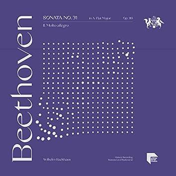 Beethoven: Sonata No. 31 in A-Flat Major, Op. 110: II. Molto allegro