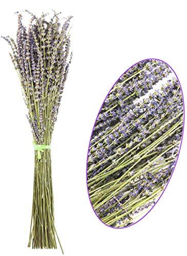 Oopsu 200Pcs 100% Natural Dried Lavender Dried Lavender Flowers for DIY Flower Arrangements Home Party Wedding Decor