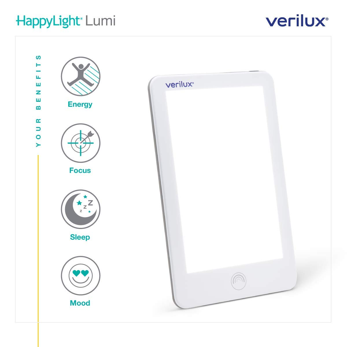 Verilux HappyLight Therapy Adjustable Brightness