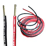 Professional Grade, Premium UL and CSA Rated 30ft 12 awg Wire, Silicone Wire, High Temperature Wire 200 Degrees C Rated, Flexible Silicone Rubber Insulated Cable, 15 ft of Each Color, Made in USA