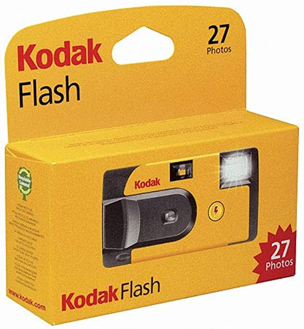 Kodak KOD401042 - Cámara de un Solo Uso Multicolor
