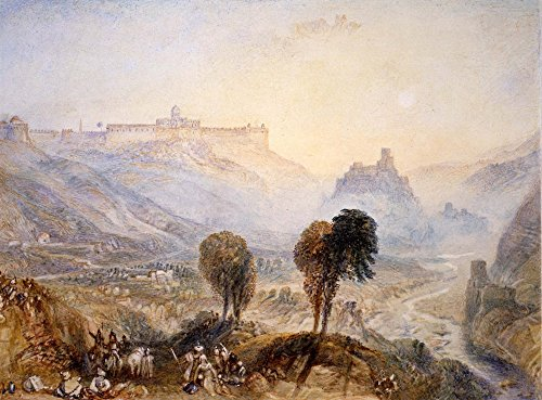 Das Museum Outlet–Mount Moriah, Jerusalem–Poster Print Online kaufen (101,6x 127cm)