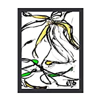 INOV リッチペタル アートパネル インテリアパネル 絵画 壁 ポスター フレーム 壁掛け インテリア 雑貨 玄関 プレゼント 贈り物 お祝い 新生活