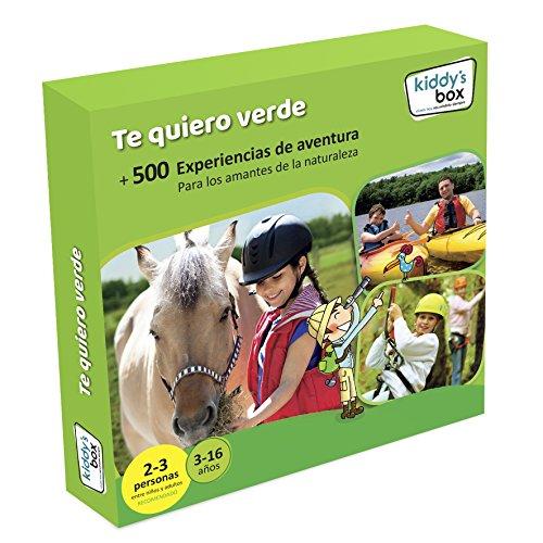 Cofre DE EXPERIENCIAS TE Quiero Verde - Más de 500 experiencias para los Amantes de la Naturaleza