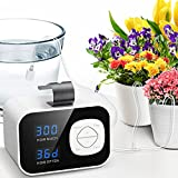 Kollea Reliable Automatic Watering System, Plant Self Watering System Automatic Drip Irrigation Kit with 60-Day Programmable Timer, LED Display & USB Power, Indoor Irrigation System for Potted Plants