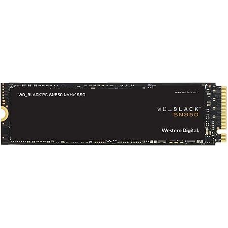 WD_Black 1TB SN850 NVMe 内蔵ゲーミングSSD - Gen4 PCIe, M.2 2280, 3D NAND - WDS100T1X0E