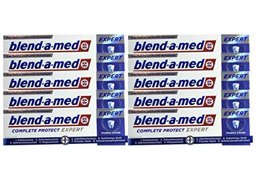 10x 75ml Blend-a-med Complete Protect Expert Starke Zähne Zahnpasta NEU