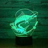 Neues Fischen beleuchtet...