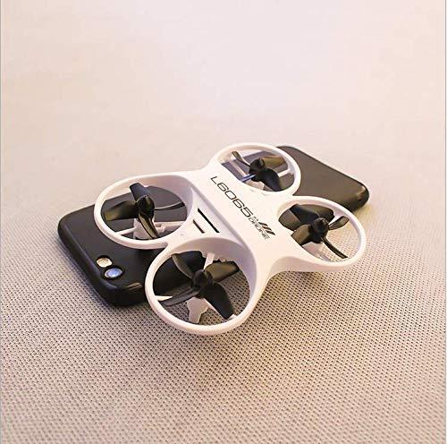 SDGSGSGDF beständig gegen fallende Mini-Fernbedienung Flugzeug Tasche vierachsigen Flugzeug Spielzeug Drohne Modell Hubschrauber weiß